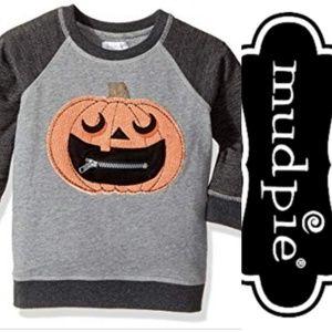 NWT Mud Pie Jack O' Lantern Sweatshirt